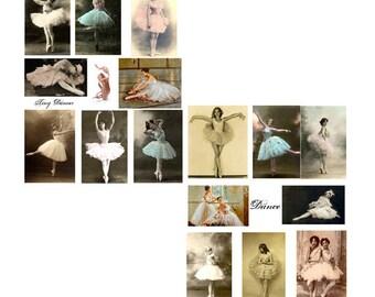 Tiny Dancers digital Collage Sheet