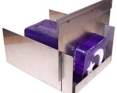 Stainless Steel SOAP CUTTER for cutting handmade blocks of soap accurately - can also be used for candles etc