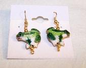 Simple Frog earrings