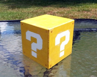 3D Question Block (Large) - Super Mario
