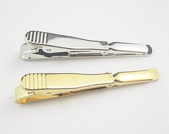 20 pcs  DIY Tie Clip Kit  Tie bar  Tie Clip Blanks 54X5mm   BS24983