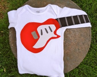 Delightfully Fun Electric Guitar Outfit Modeled after the 'Taylor Classic Electric'