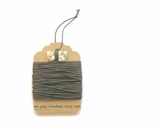 Chocolate Brown  Bakers Twine, Solid  Bakers Twine, 10yds, Fall Colors, Solid Bakers Twine , Brown Twine