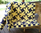 Queen Size Crown Royal Quilt:  Original Design