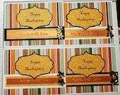 Happy Thanksgiving Cards (Set of 4)