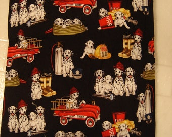 Fire Dalmatian Print Back Warmer Corn Cozie