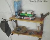 Handmade Rustic Red Cedar Knick Knack Shelves by: William Hassel