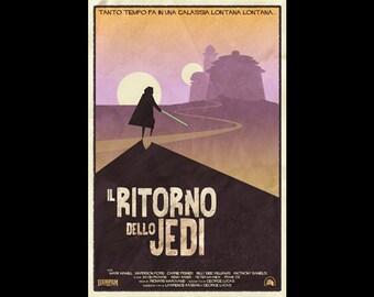 """Il Ritorno dello Jedi (Return of the Jedi) (12""""x18"""")"""