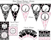 Paris Themed Party Package
