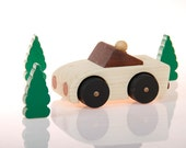Original Racer No. 2 - wooden toy car