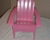Adirondack Doll Chair for 18 in. doll