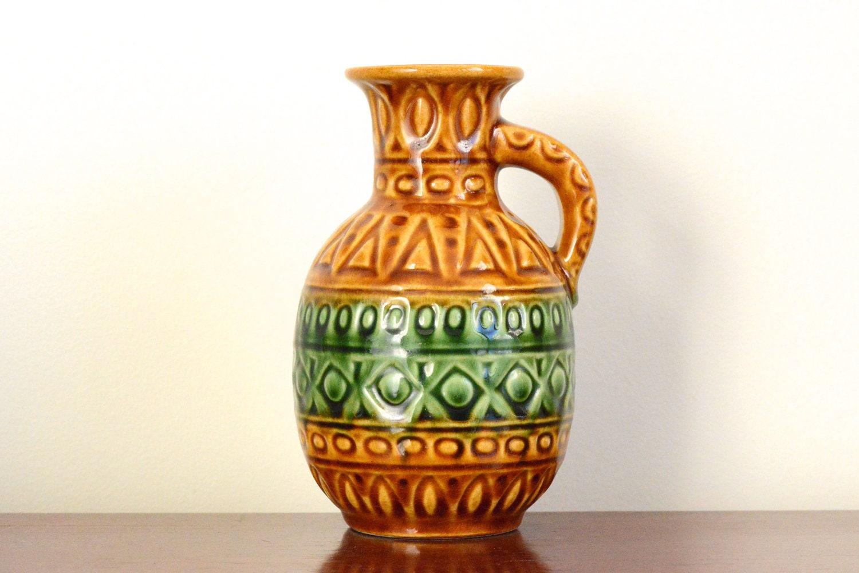 Bay Keramik: West German pottery vase 93-17