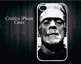 Frankenstein Black and White - iPhone 4 Case, iPhone 4s, iPhone 5, iPod Touch 4, iPod touch 5, Samsung Galaxy S3, and Samsung Galaxy s4