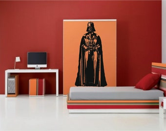 LARGE 6ft TALL -  Starwars Darth Vader - Wall Art Stickers