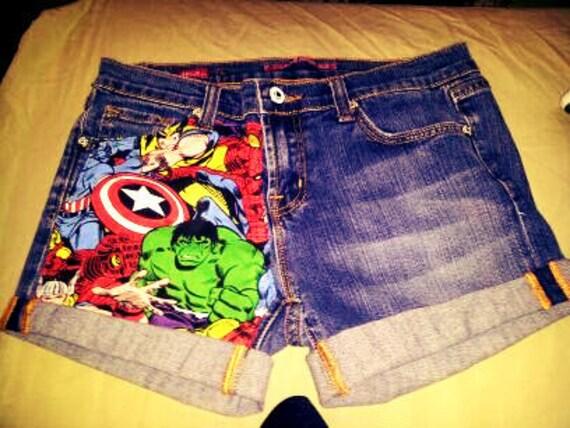 Marvel Avenger Shorts
