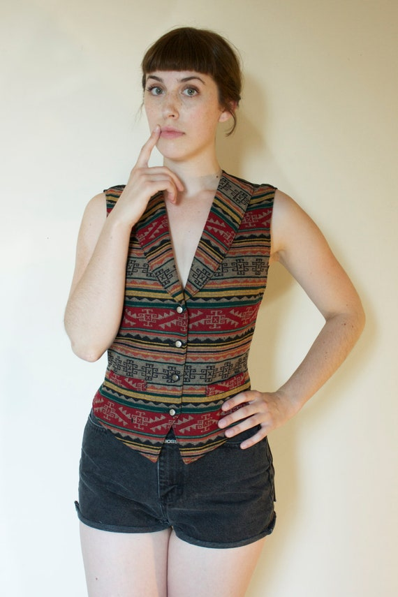 Vintage Pendleton Southwestern Vest