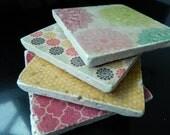 Coasters- set of 4 stone tiles