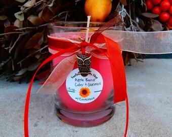 Apple Barrel Cider and Oakmoss Soy Candle