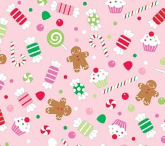 Christmas Candy Pink, Riley Blake, C2541 PInk, 1/2 yard