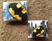 Batman Catnip Pillow- Set of 2