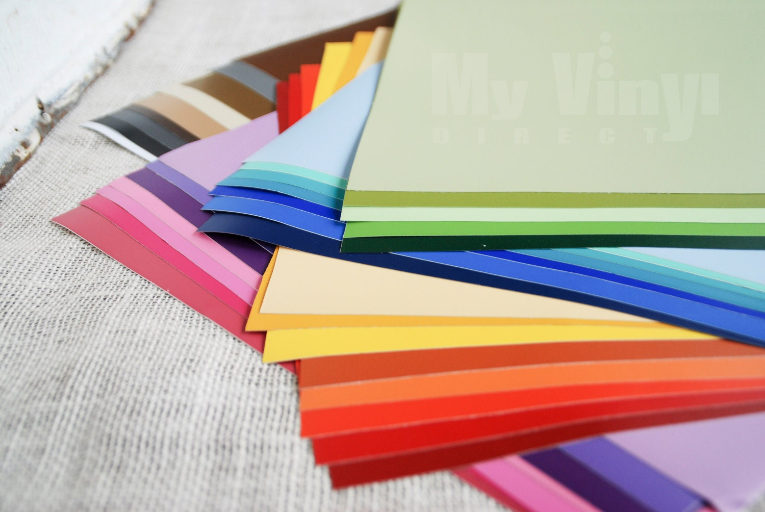 12 X 12 Matte Craft Adhesive Backed Vinyl Sheets By