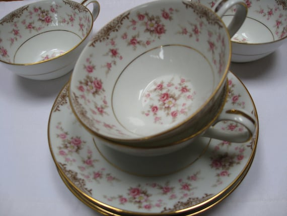 CUSTOM LISTING for Gaby - Eight Cup and Saucer Sets