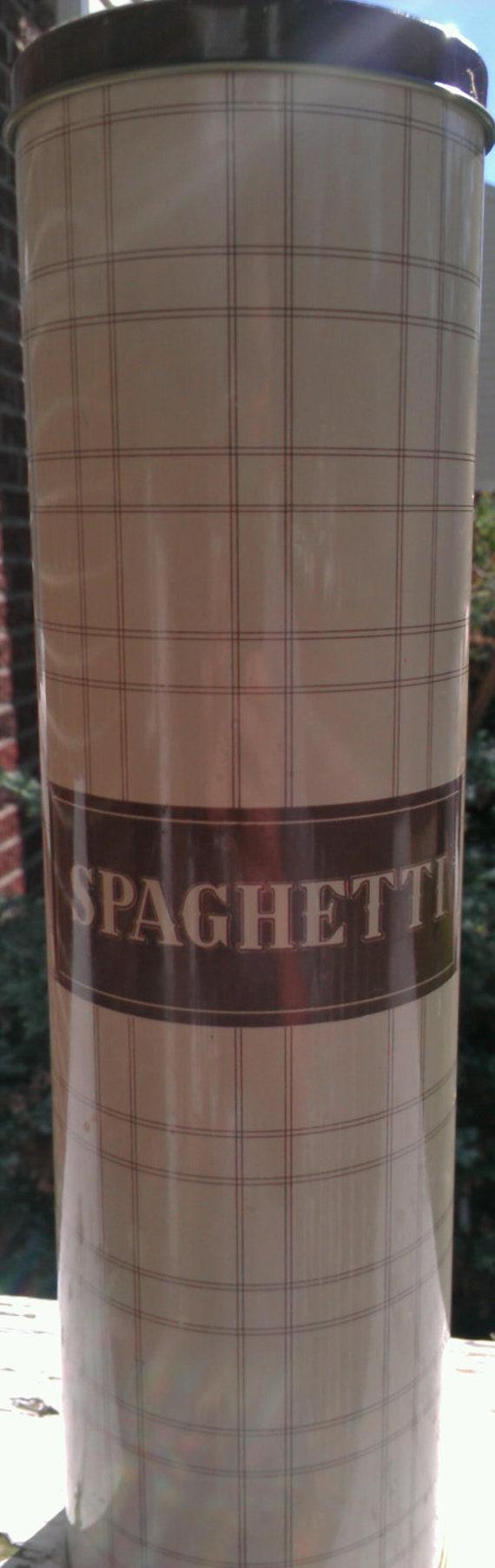 Spaghetti Holder/Tin