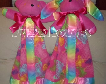 Bufferfly Spectrum Rainbow Lovey for Children