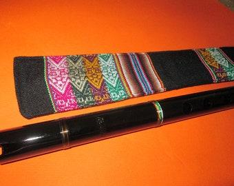 Professional  Black Flute Quena Amaru Case included
