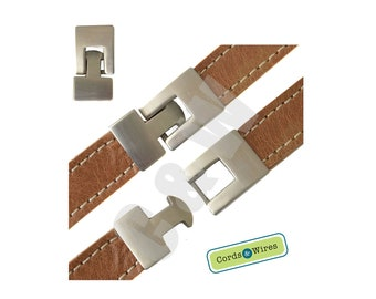 CL15003 - Stainless Steel Clasp, Matt Finished