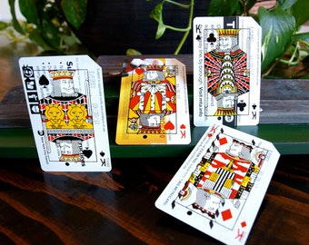 Metrodeck Playing Cards: Four of a Kind Kings Set