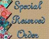 Special Reserved Listing for jaspey126