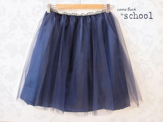 Tulle skirt (back to school)