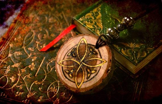 Celtic Wood pendant