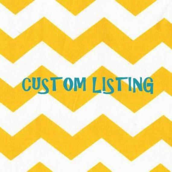 Custom Listing for jennyholcomb516