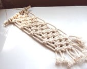 Macrame Wall Hanging // Upcycled Decor