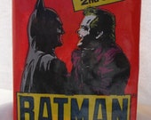 1989 Sealed Batman Card Pack gag gift party favor trading cards
