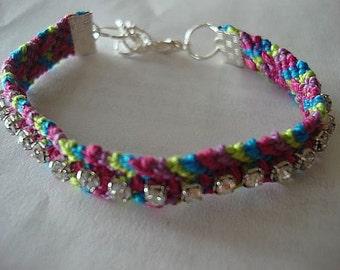 Bright Chevron Bracelet