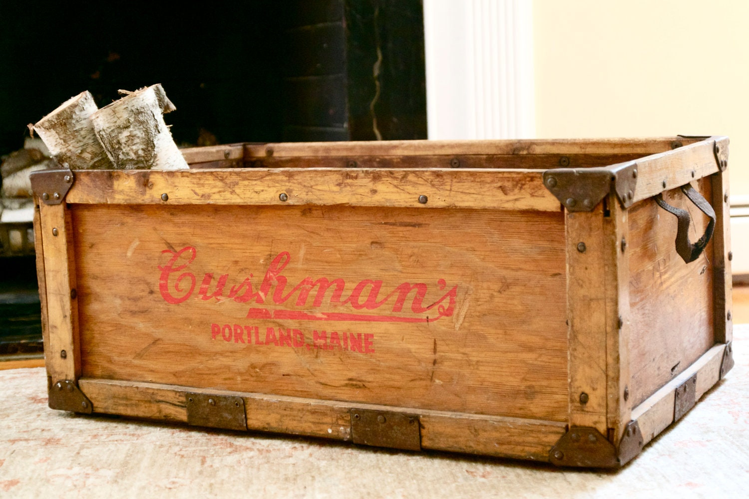 vintage shipping crates