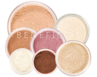 9pc Makeup Kit - FRESH START - Full Size Mineral Makeup