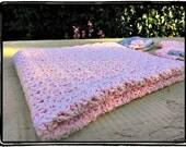 Crochet Baby Blanket Newborn Afghan Stroller Blanket