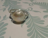 ALMOST BRIDAL freshwater pearl ring