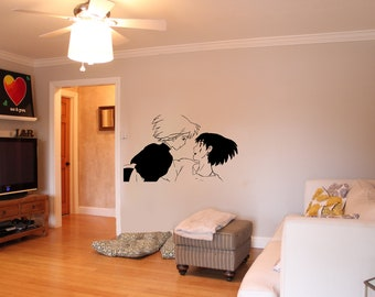 Howl's Moving Castle Howl and Sophie Wall Decal 3