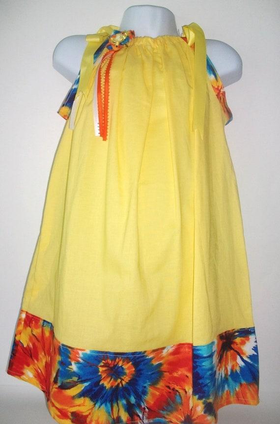 children clothing girls  Pillowcase Dress/ toddler summer dress/ sun dress