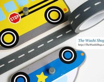 Roadway Washi Tape