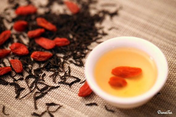 Black Tea - Goji Berry X Lapsang Loose Leaf Tea Premium Level NET 30 grams