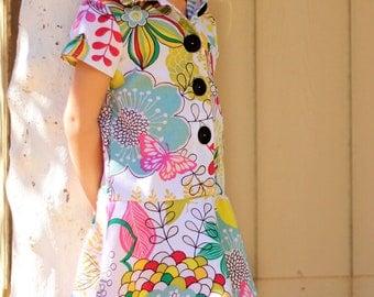 Ashleigh Dress Pattern size 1-6 years