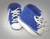Baby booties pattern - HK12 (crochet patterns)