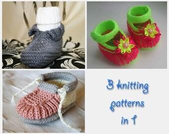 Mix knitting patterns 3 in 1 (HK... 3, 10, 13)