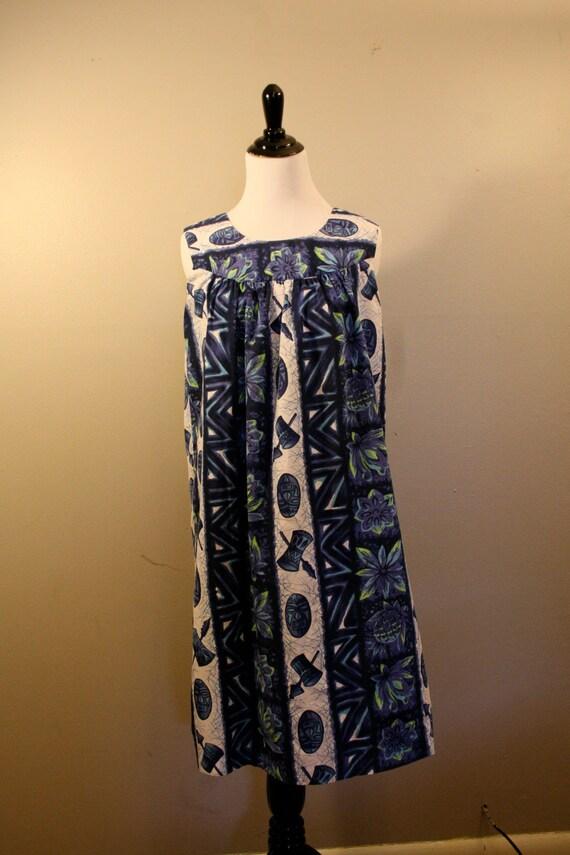 1960s Ui- Maikai Hawaiian Dress